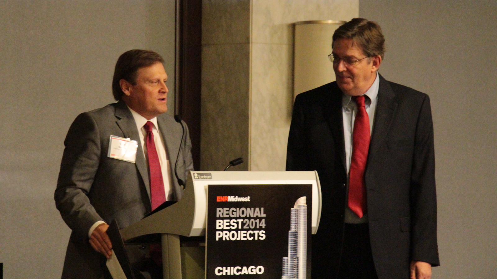 Meckes at ENR Midwest Design Firm of the Year