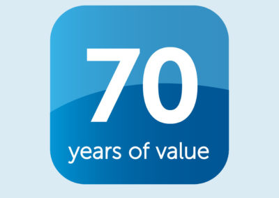 Celebrating 70 Years of Value