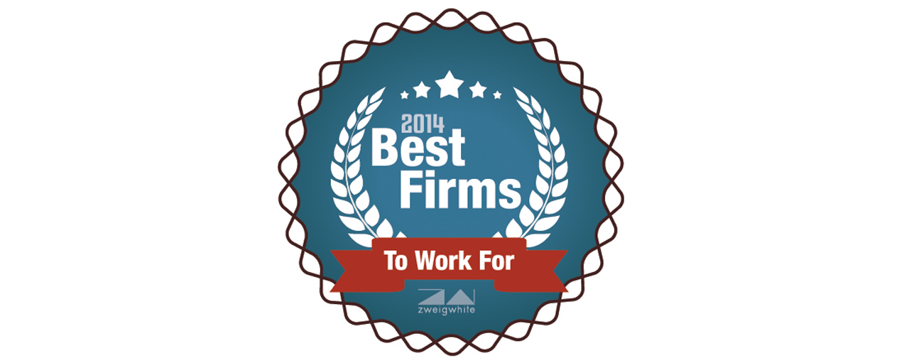 Zweig White Best Places to Work 2014