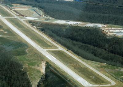 Branson West Airport Runway Aerial