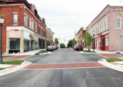 Downtown Revitalization Project wins ACEC-Indiana Award