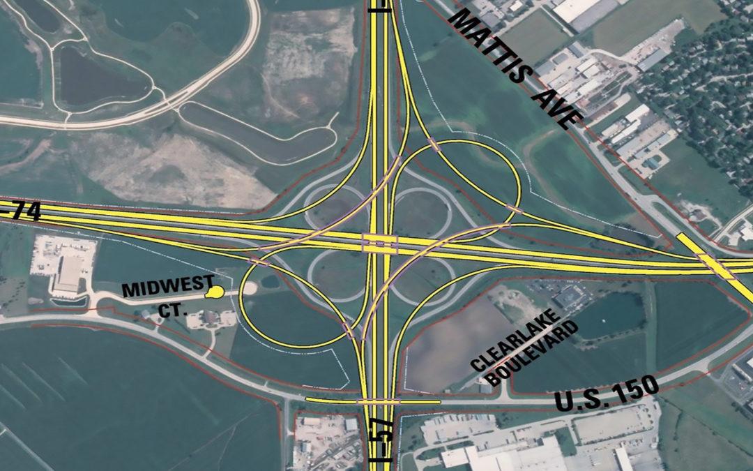 I-57 and I-74 Interchange Reconstruction