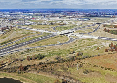 I-57 & IL Route 13 Single-Point Interchange