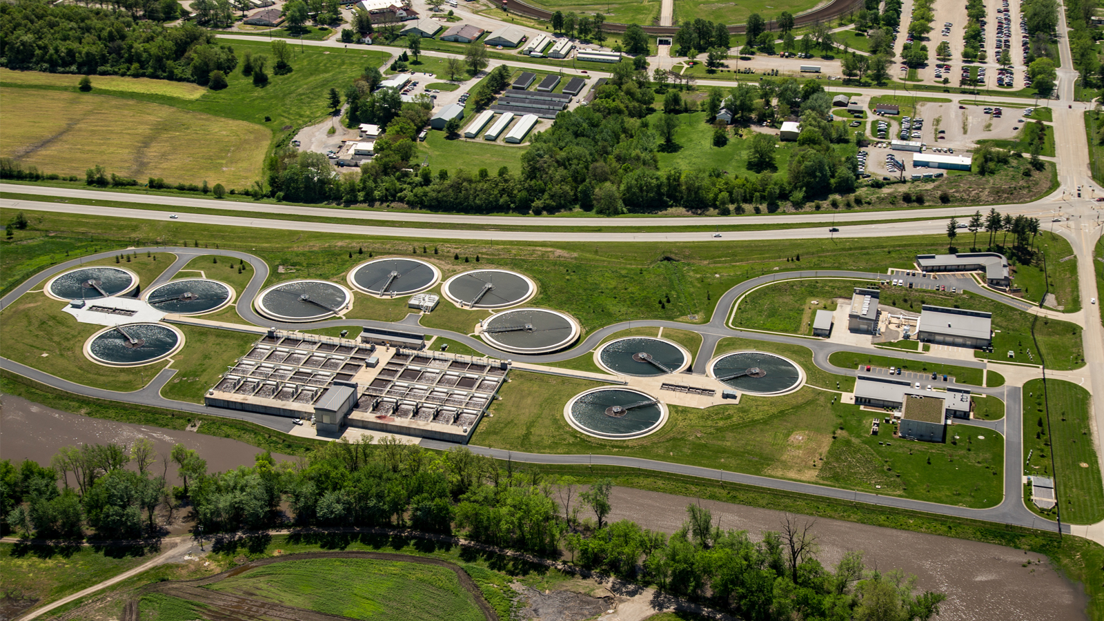 Process Design Improvements at Wastewater Treatment Plant