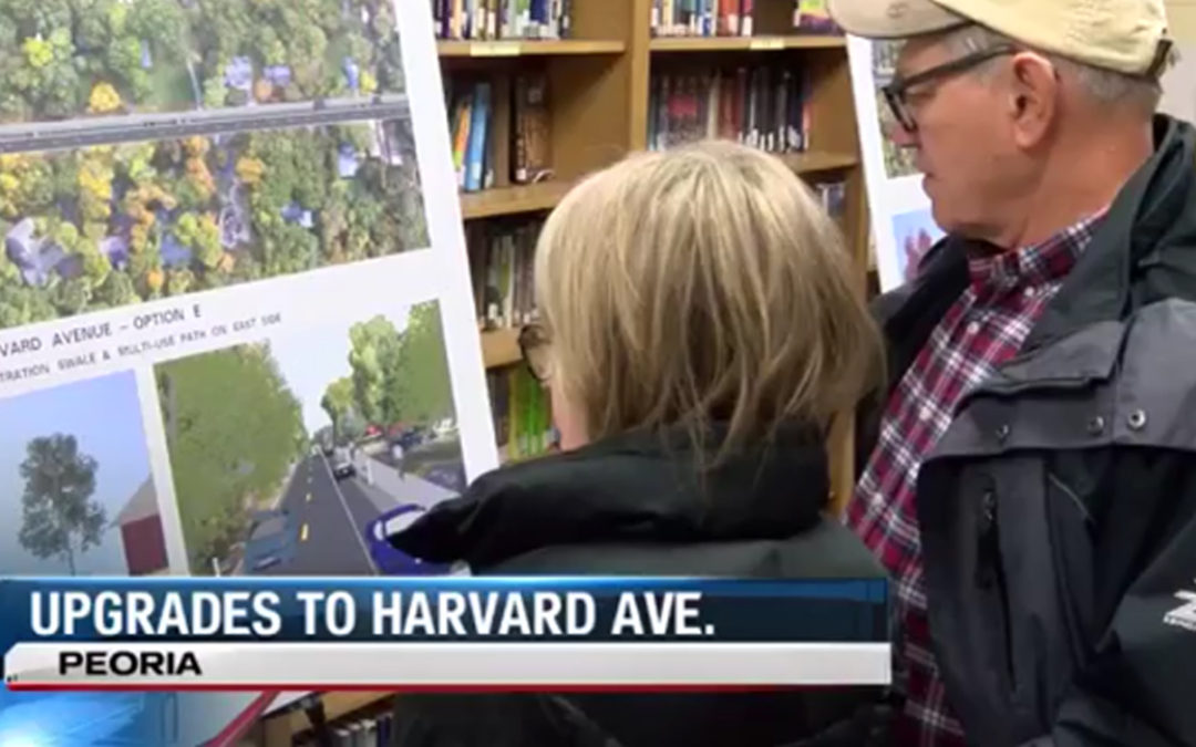 "From ""www.CentralIllinoisProud.com,"" ""Upgrades Coming for Harvard Avenue"""