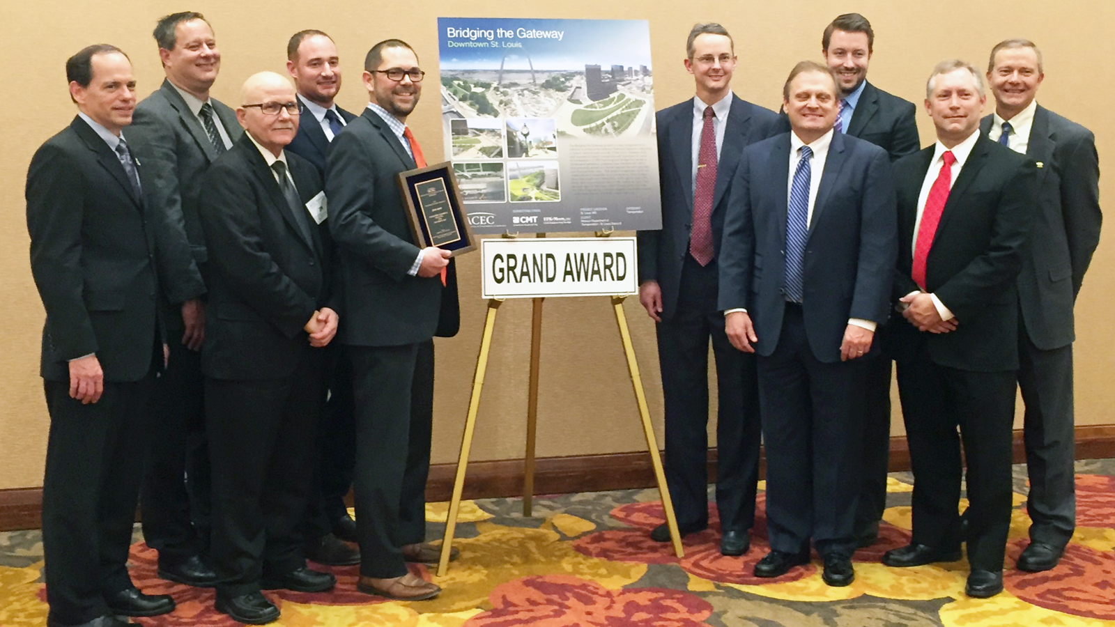 ACEC-MO Grand Award for Bridging the Gateway Project 2017