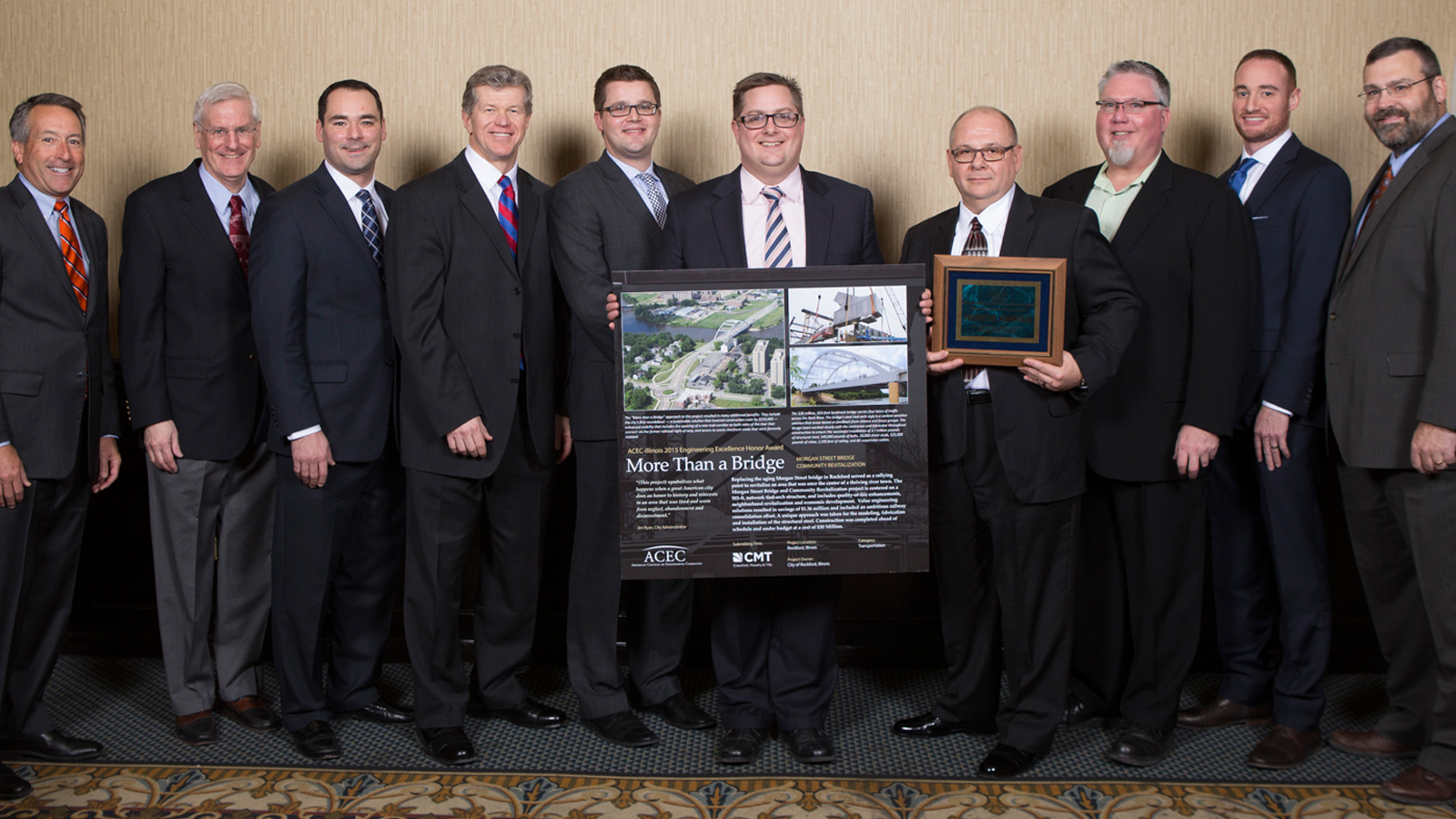 Morgan Street Bridge Project Award