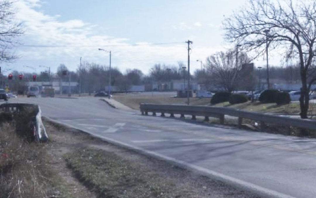 """KY3"" article and video, ""Crews will widen Grand Street Bridge near Kansas Expressway in Springfield [MO]"""