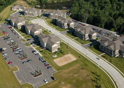 Enclave Student Housing Aerial 1