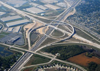 North-South Tollway (I-355) South Extension Aerial
