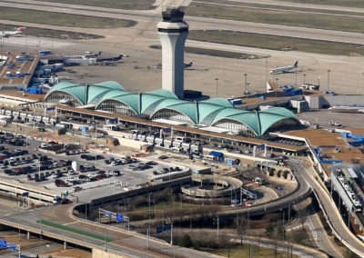 Lambert-St Louis International Airport Terminal Aerial