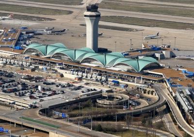 Lambert-St Louis International Airport Terminal Aerial