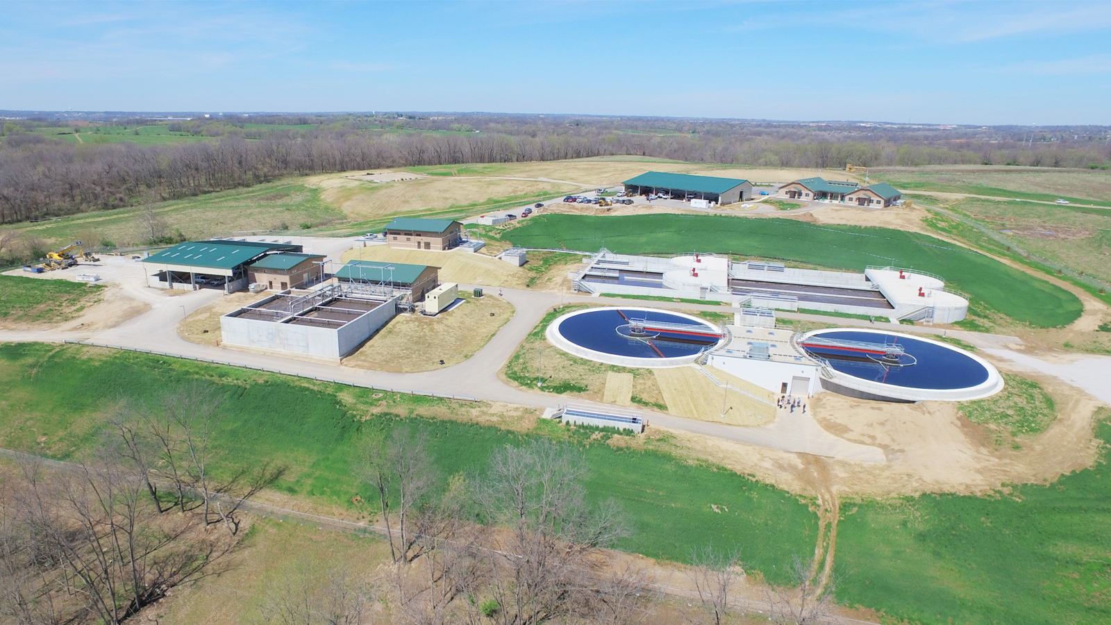 Liberty Wastewater Treatment Plant Aerial 2