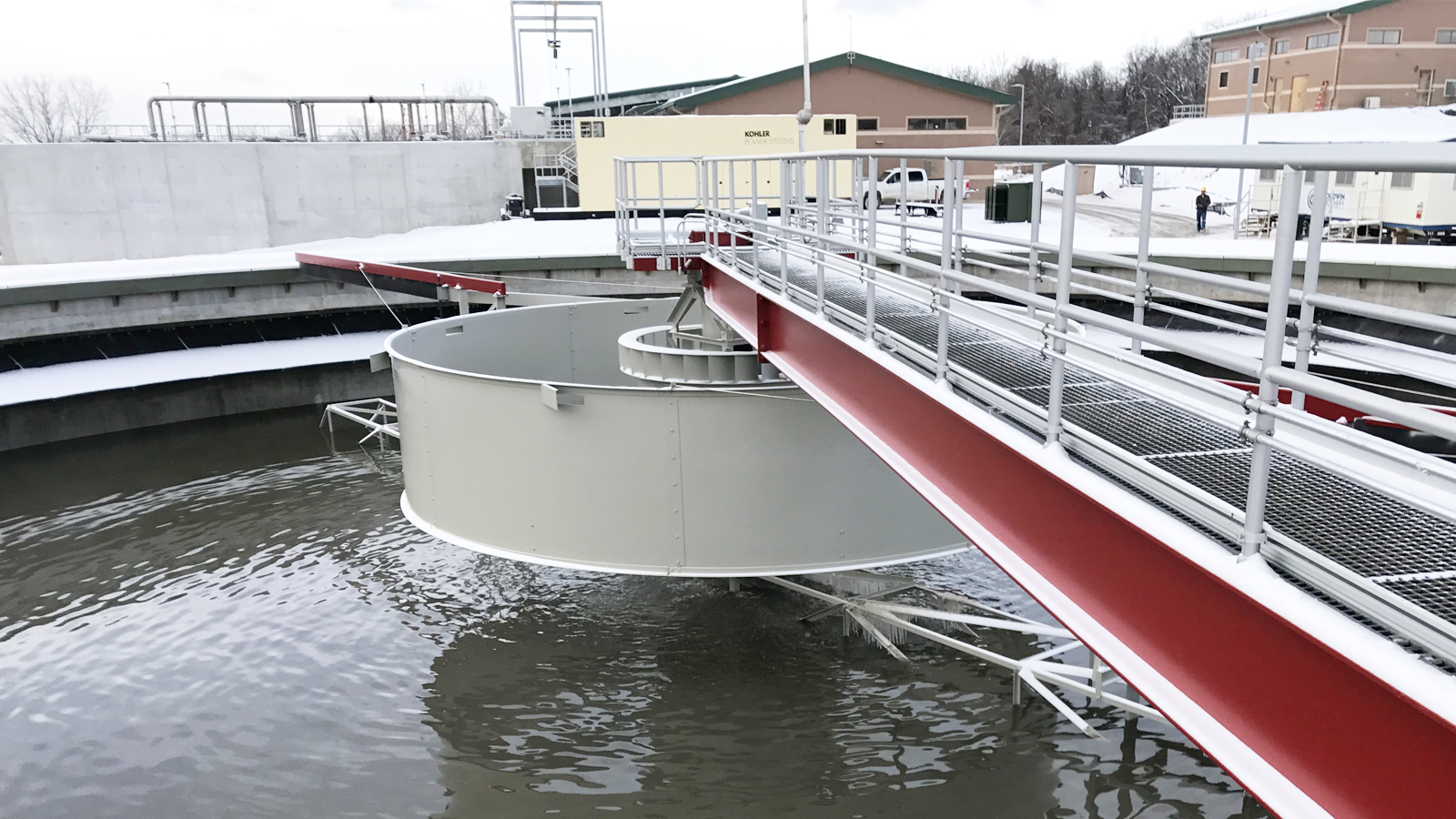 Liberty WWTP Clarifier