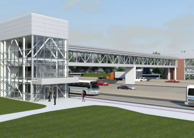 PACE Pedestrian Bridge Rendering