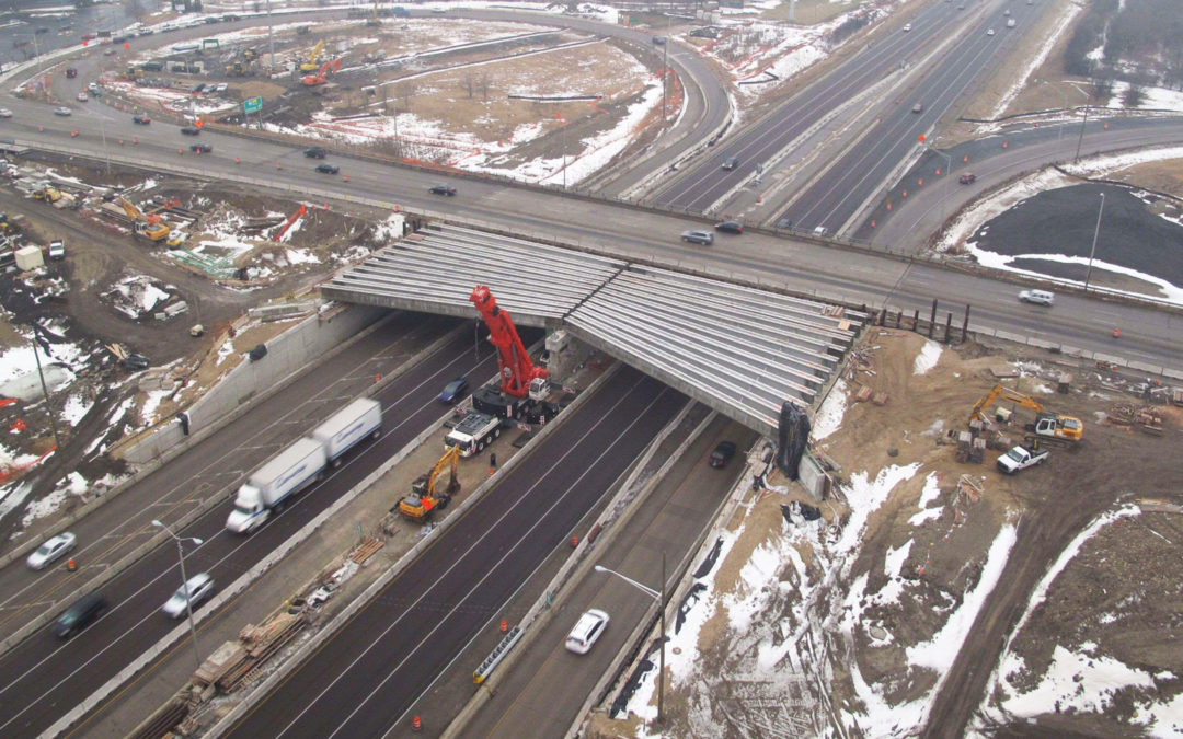Barrington Road Project Introduces New Interchange Type to Chicago Area