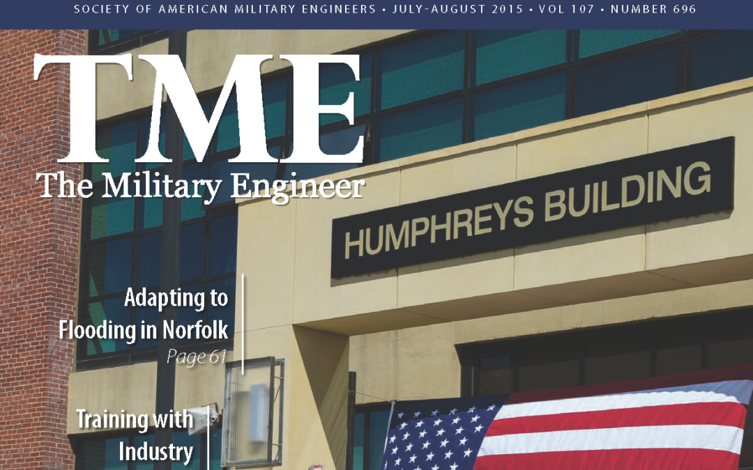 """CMT's Rich Thuma Explains """"Total Value Delivery"""" in this """"TME"""" (the Military Engineer) Magazine Article"""