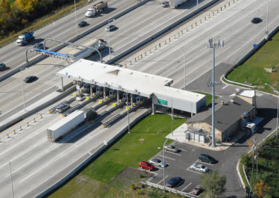 Tolling Station Aerial 2