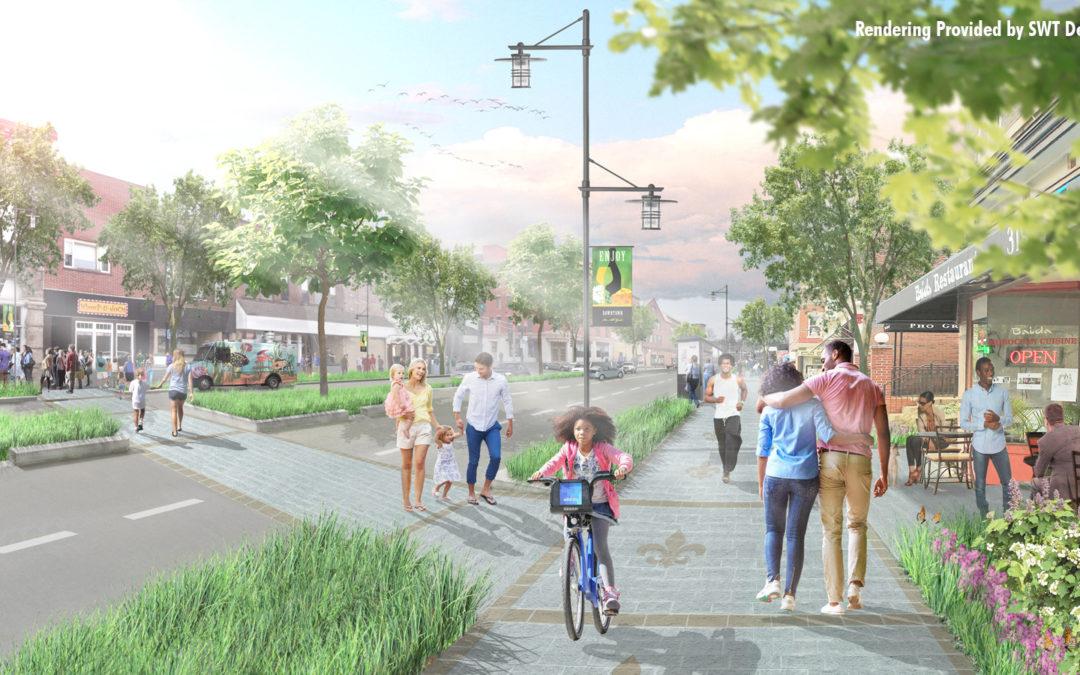 A Complete Street to Promote Economic Development