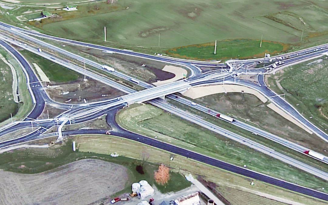Diverging Diamond Interchange Wins ASCE-Indiana Section Award