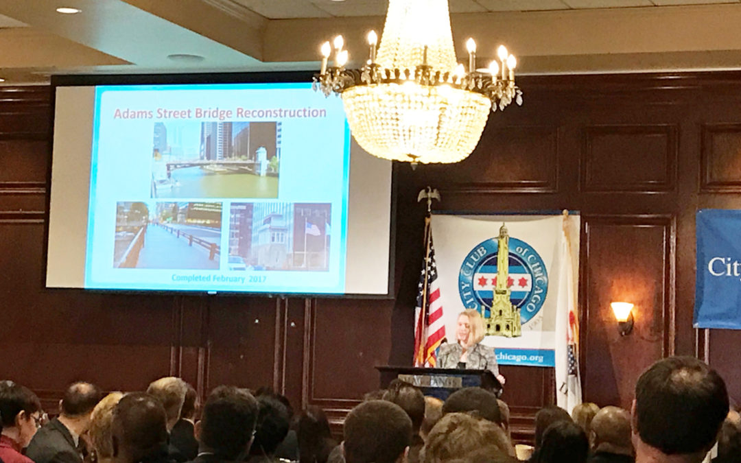 CMT-led Adams Street Bridge Project Highlighted in Speech by Chicago's DOT Commissioner