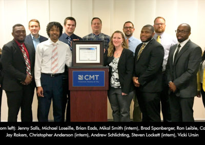 CMT Receives Top Diversity Award in Recognition of Minority Student Initiative