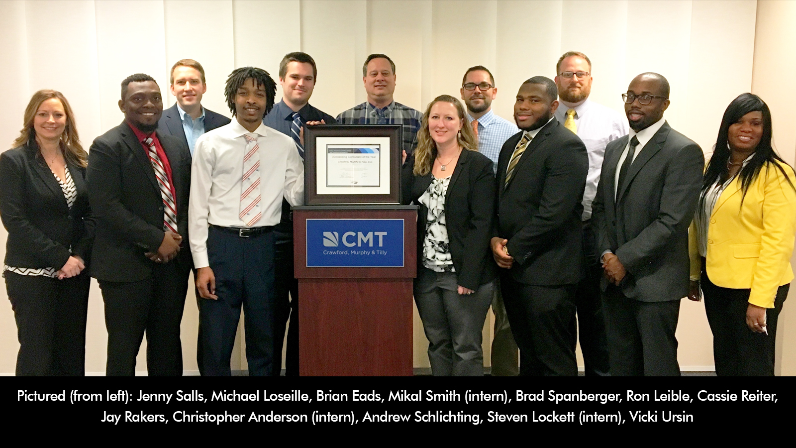MoDOT Outstanding Consultant of the Year 2017