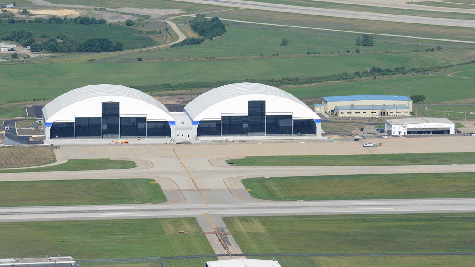 Chicago Rockford International Airport Aerial of MRO