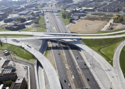 Mississippi River Bridge and I-70 Interchange Finished South View