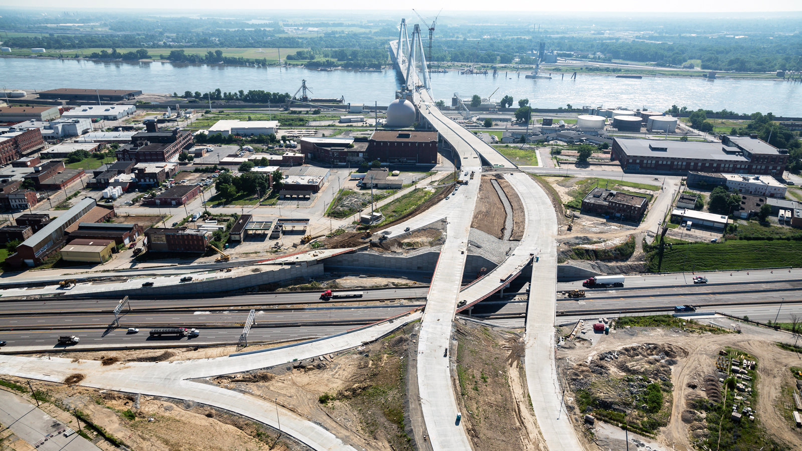 Mississippi River Bridge and I-70 Interchange