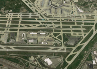 OHare Airport Aerial