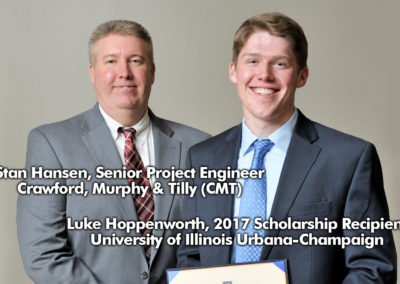 CMT Sponsors Scholarship for University of Illinois Urbana-Champaign Civil and Environmental Engineering Student