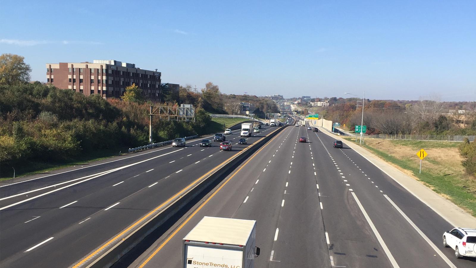 Lane Additions of I-64 in Missouri