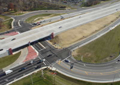 Route 367 Freeway Conversion Aerial 2