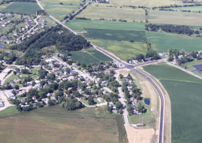 Kane County Realignment of Plank Road Aerial 2