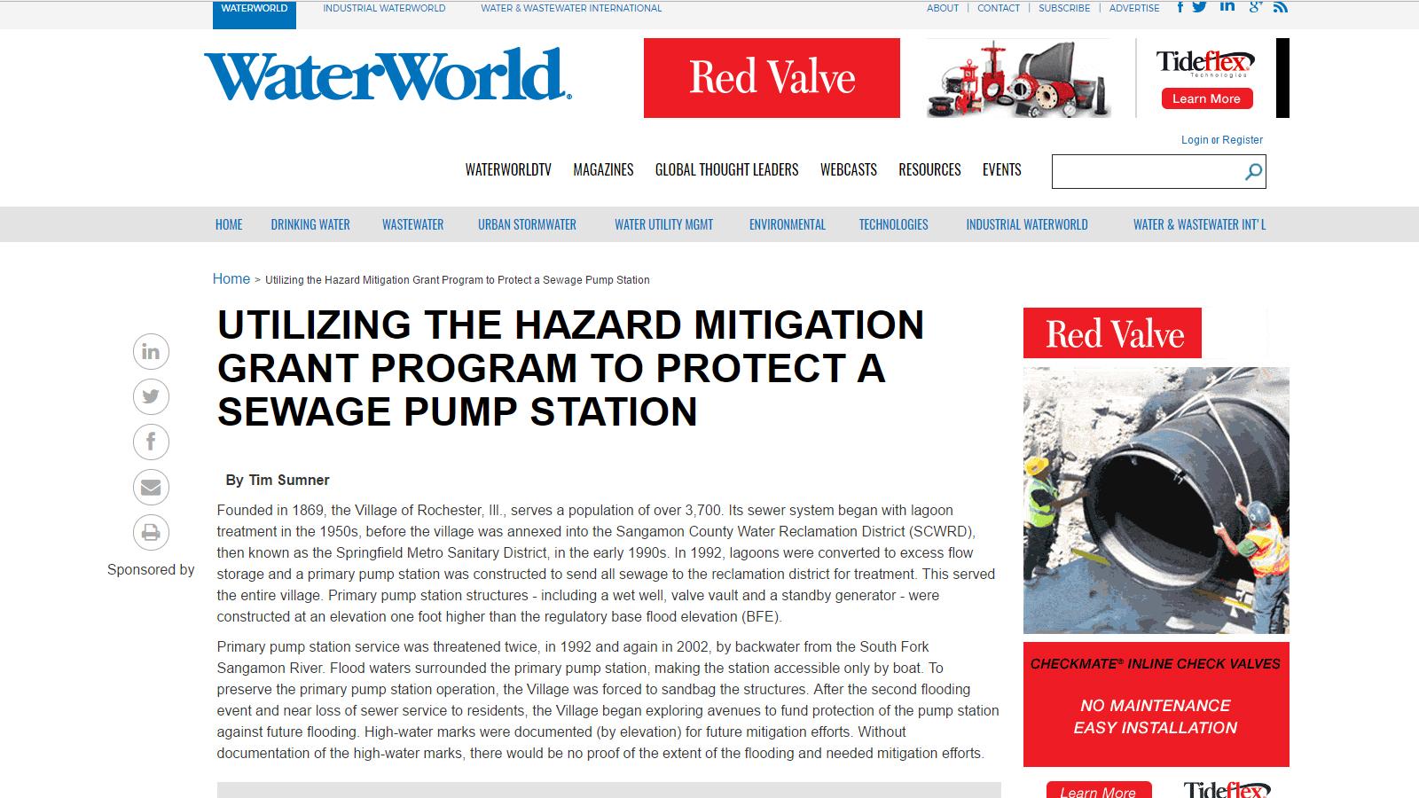WaterWorld Website Image