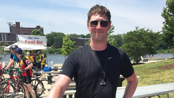 Adam Moulton Participates in Chicagoland Tour de Cure