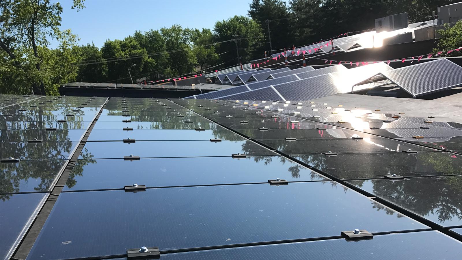 CMT's Solar Roof