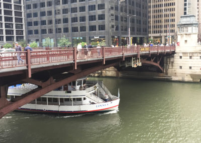 Reconstruction of the Adams Street Bridge Over the Union Station Tracks and Chicago River