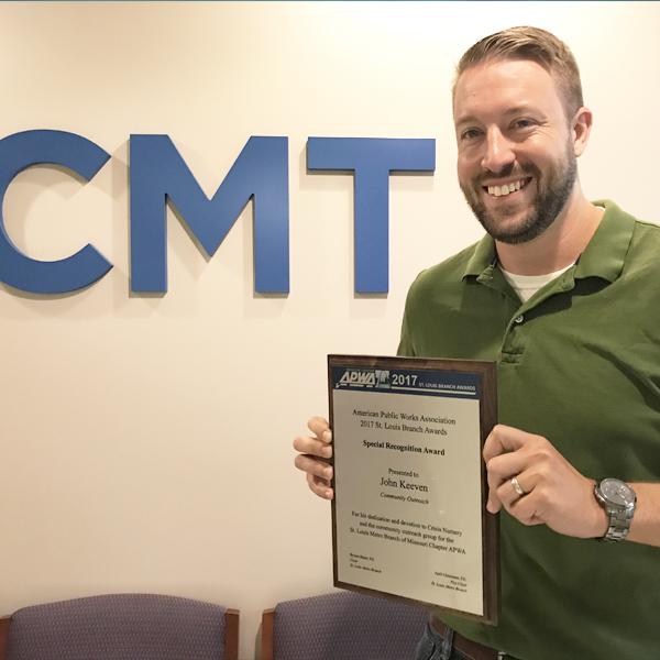 John Keeven AWPA Special Recognition Award 2017