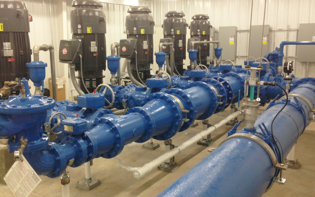Low and High Service Pump Station Capacity Increase