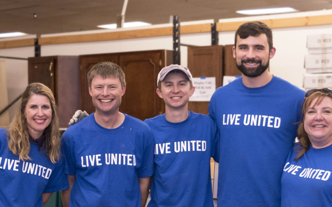 CMT's United Way Volunteers at Day of Action Fall 2017 in Springfield, IL