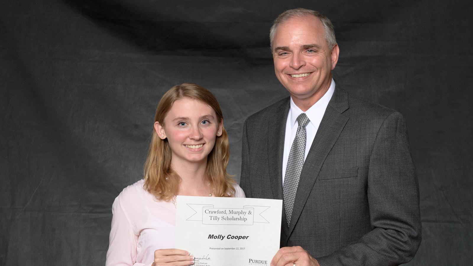 CMT Purdue Scholarship Winner 2017