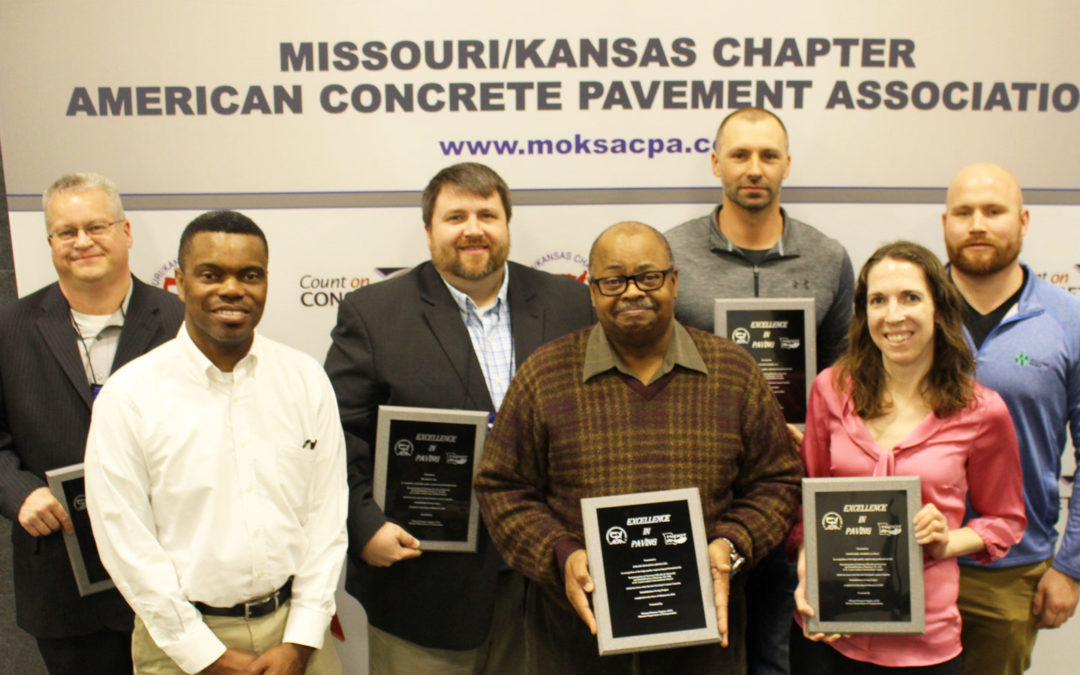 CMT Presented with American Concrete Pavement Association (ACPA) Missouri/Kansas Chapter Award