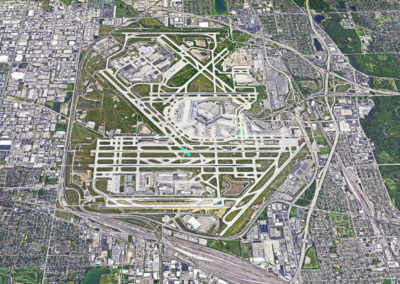 O'Hare International Airport Aerial
