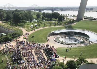 Museum at the Gateway Arch Ribbon Cutting