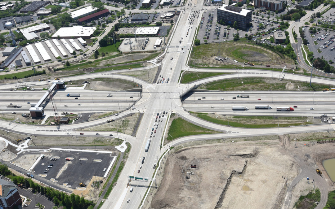 Barrington Road Interchange at the Jane Addams Memorial Tollway (I-90)