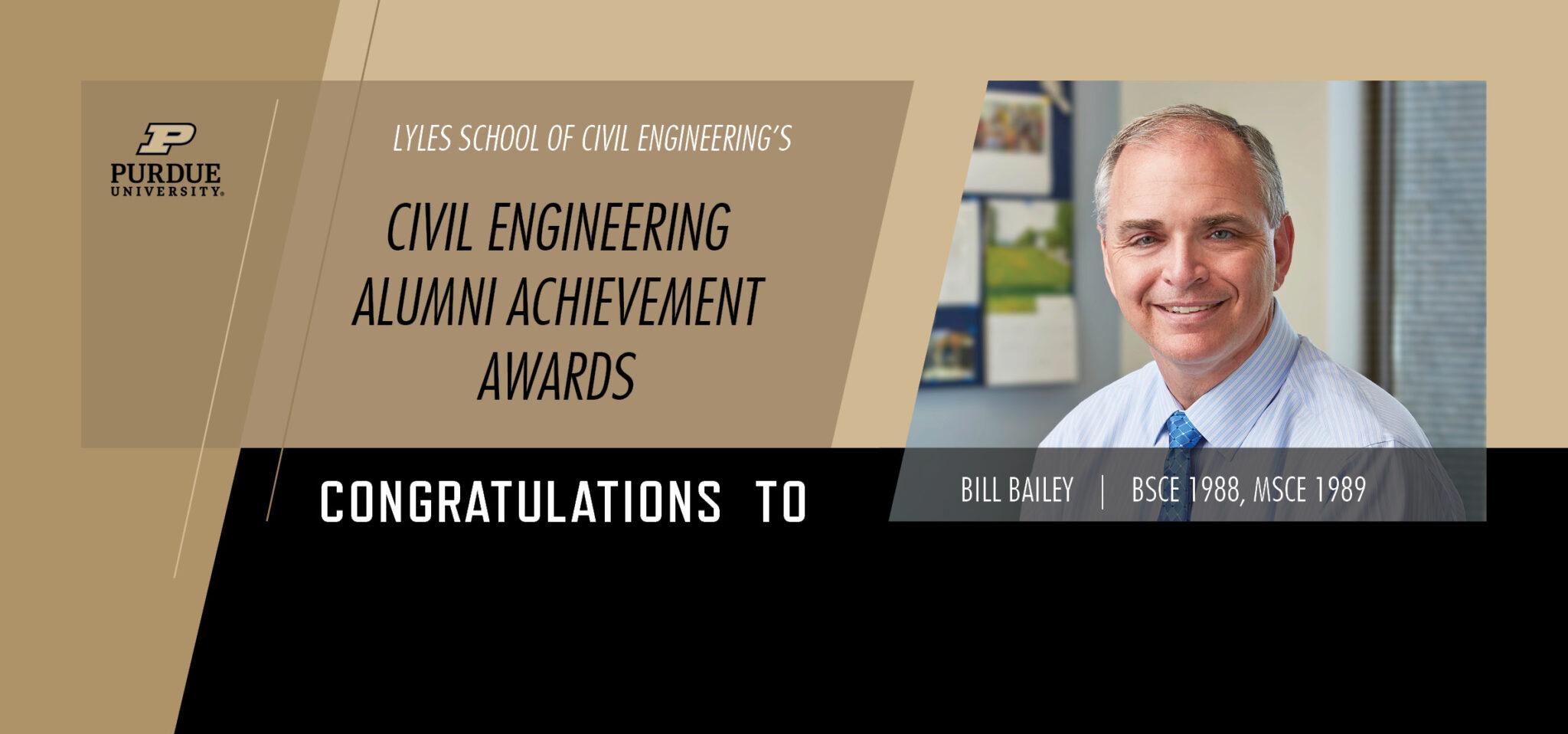 Purdue University Engineering Alumni Achievement Award, Bailey
