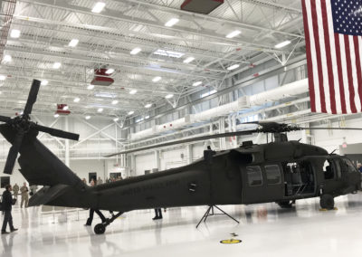 Blackhawk Helicopter at AASF at Kankakee