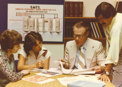 CMT Marketing Department Late 70s